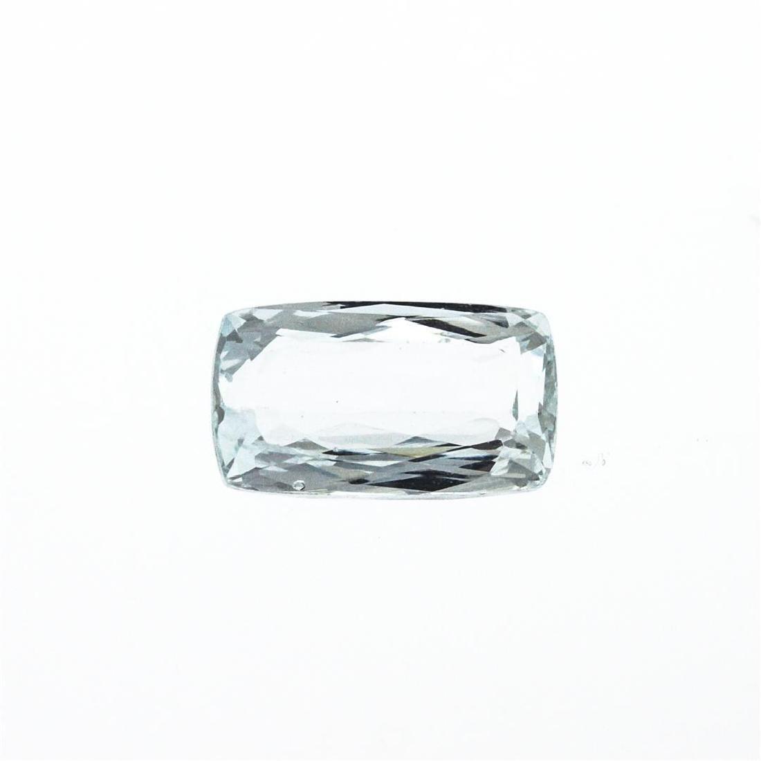 5.68 ct. Natural Cushion Cut Aquamarine