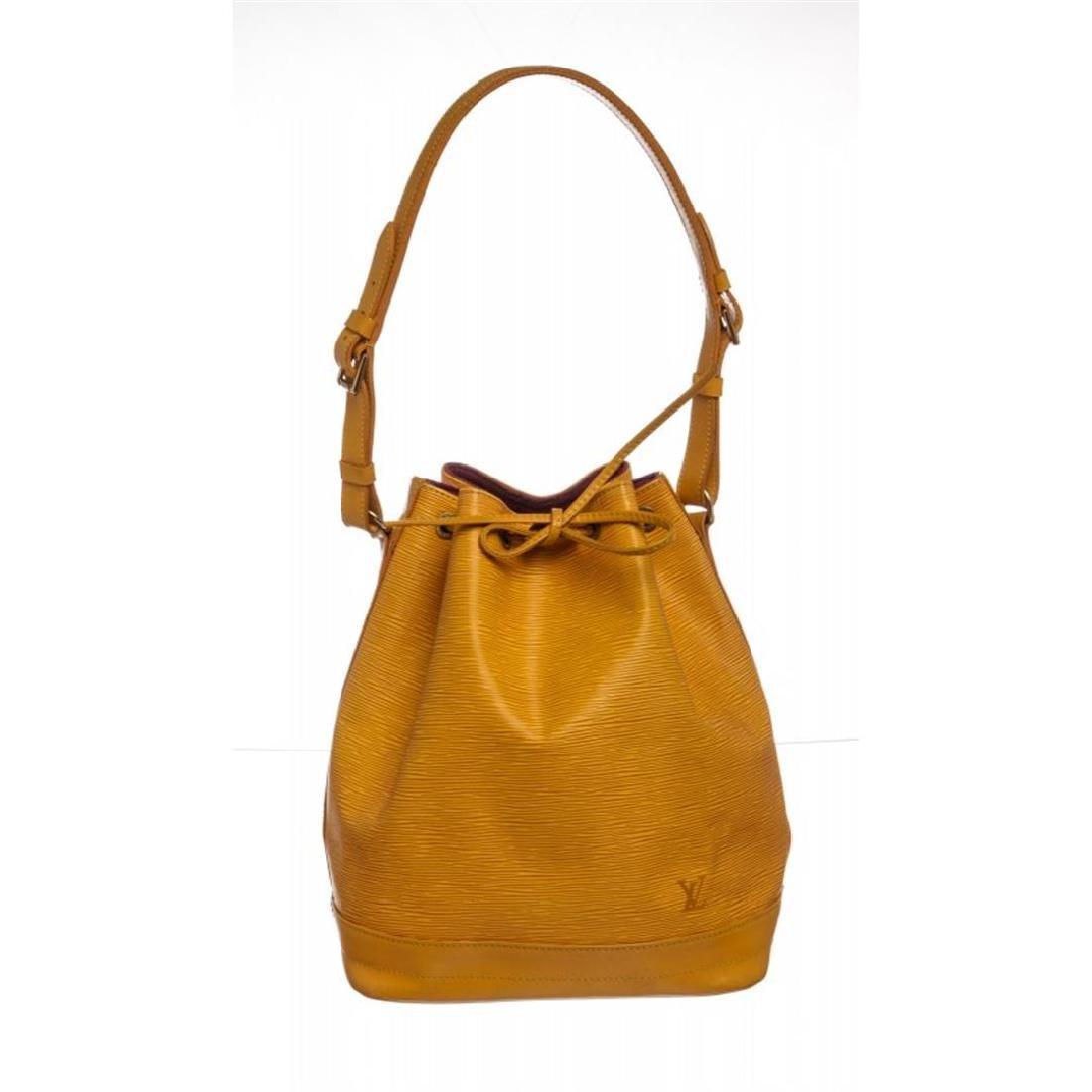 Louis Vuitton Yellow Epi Leather Noe GM Drawstring