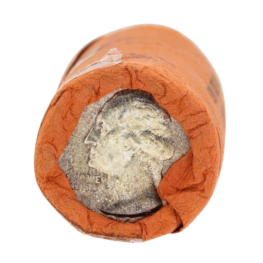 Tube of 40 1961 Washington Quarter Dollars