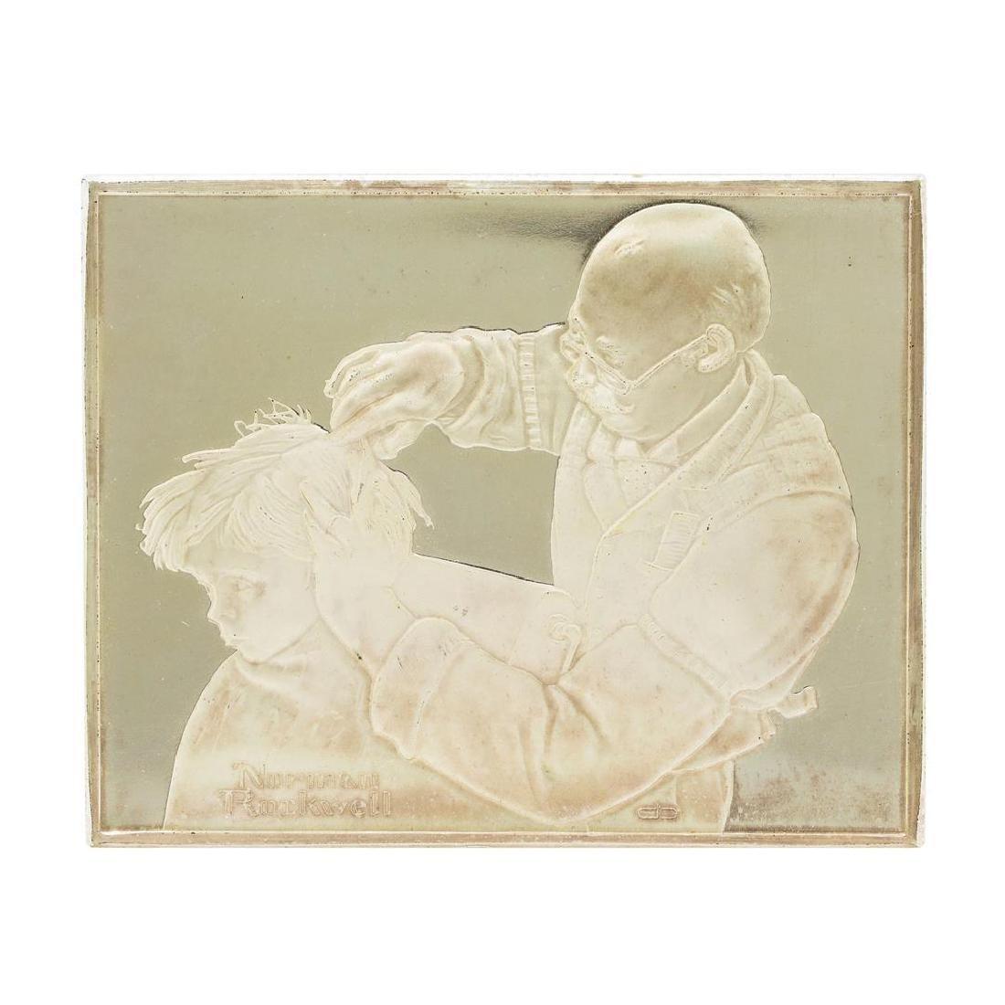 Norman Rockwell Fondest Memories 1500 Grains Sterling