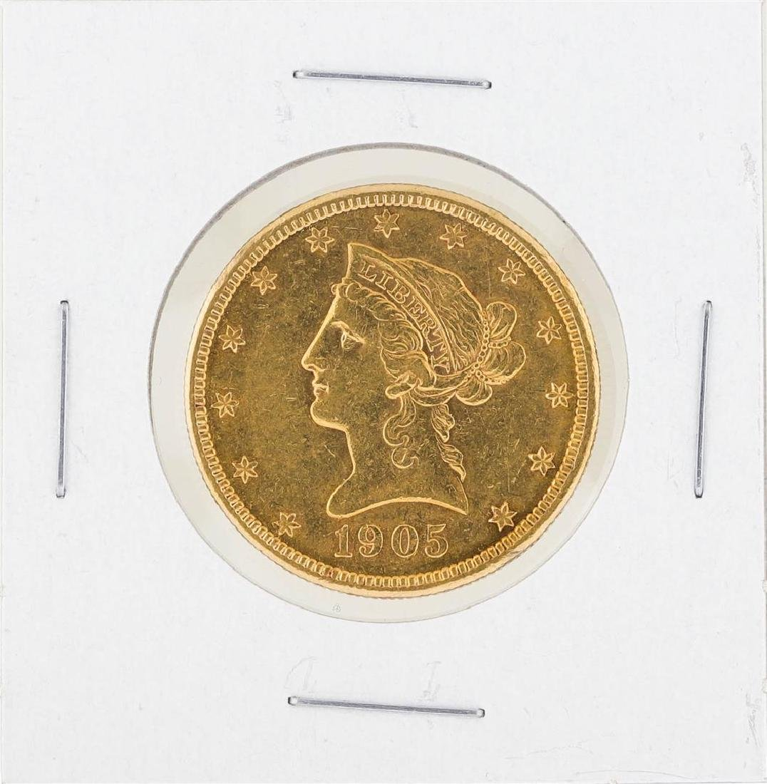 1905S $10 Liberty Gold Coin C