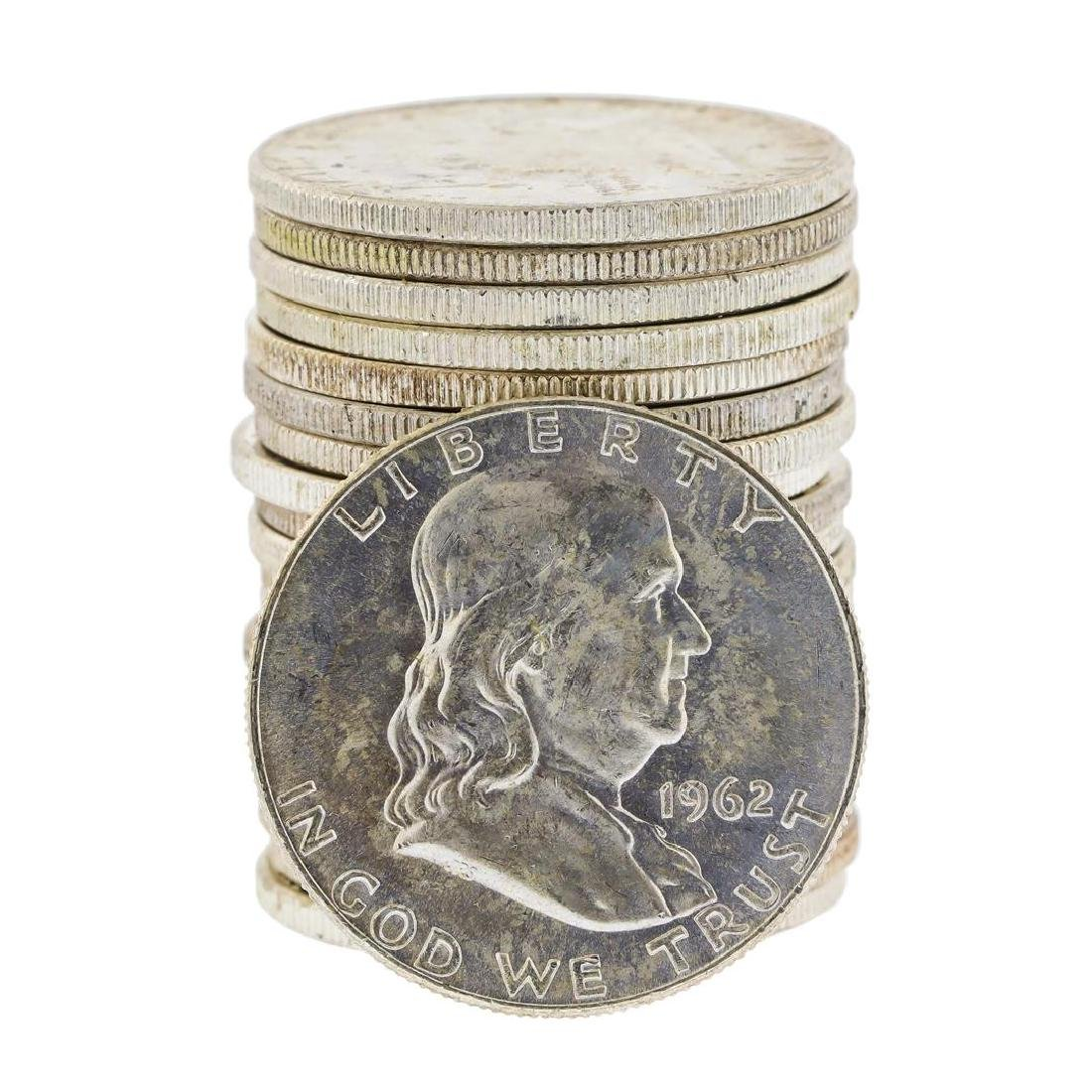 Roll of (20) 1962-D Brilliant Uncirculated Franklin