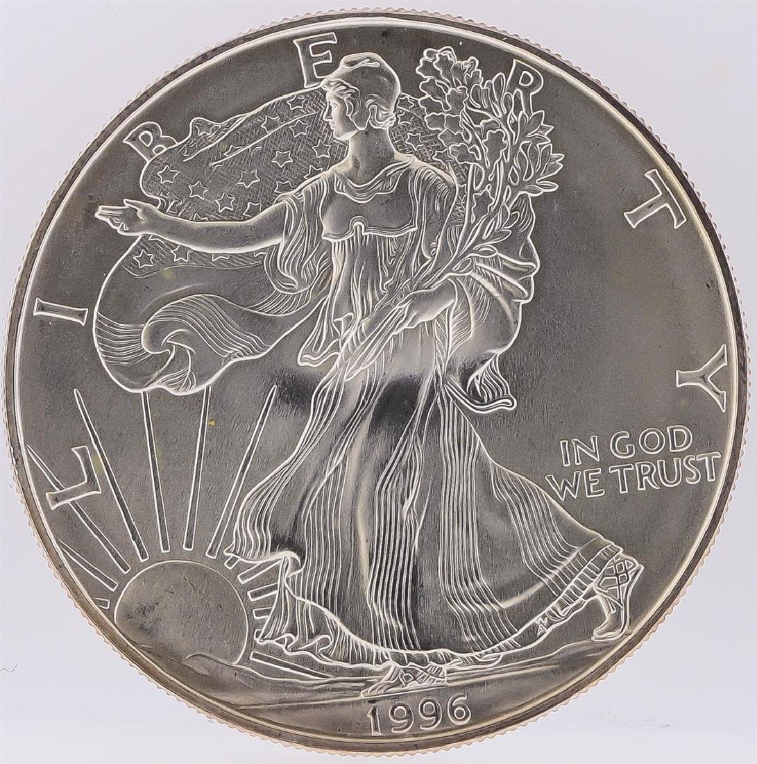 1996 American Silver Eagle Dollar Coin