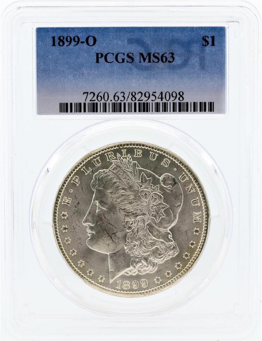 1899-O PCGS MS63 Morgan Silver Dollar