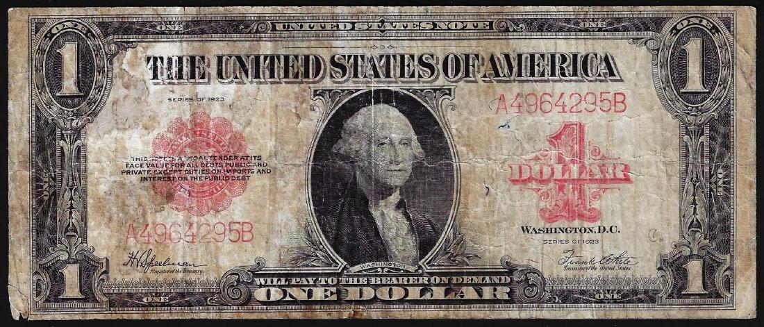 1923 $1 Legal Tender Note