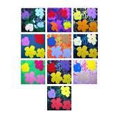 Flowers Portfolio by Warhol, Andy