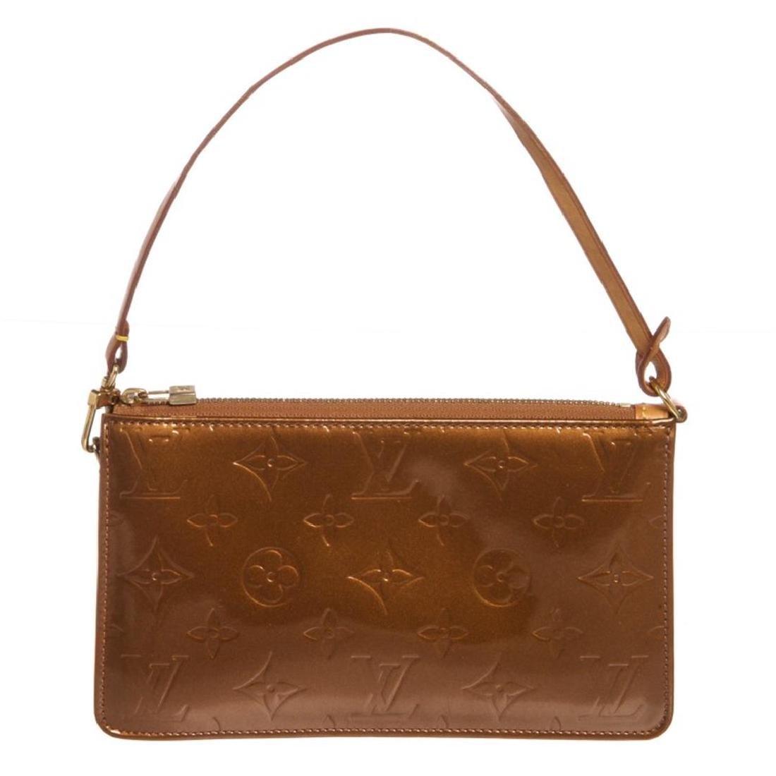 Louis Vuitton Bronze Monogram Vernis Leather Lexington