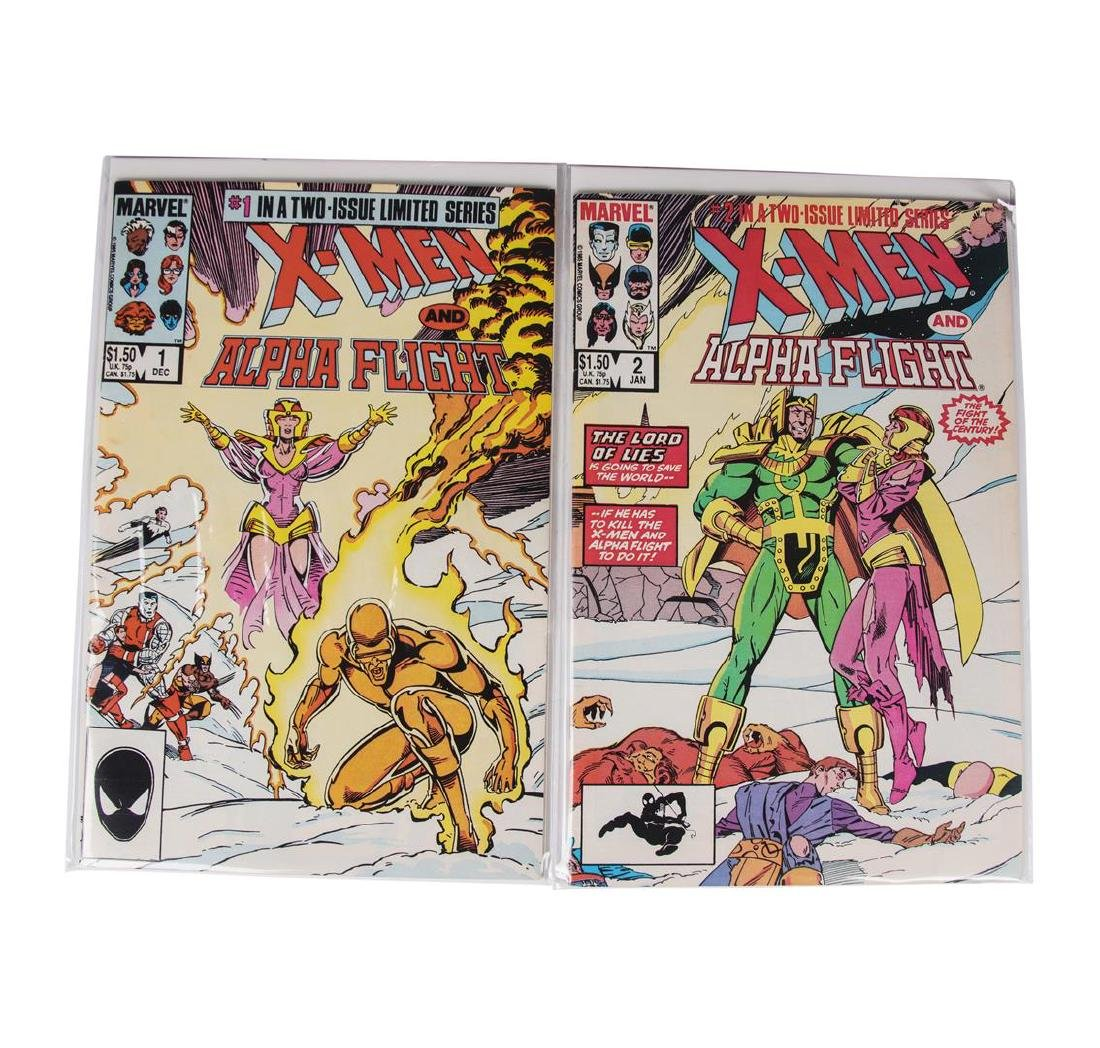 X-men and Alpha Flight Set