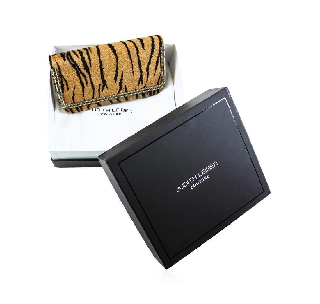 Judith Leiber Couture Carmichael Calf Hair Clutch Bag