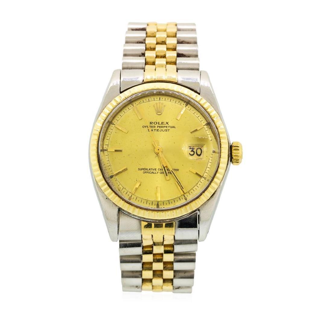 Vintage Rolex Two-Tone DateJust Wristwatch