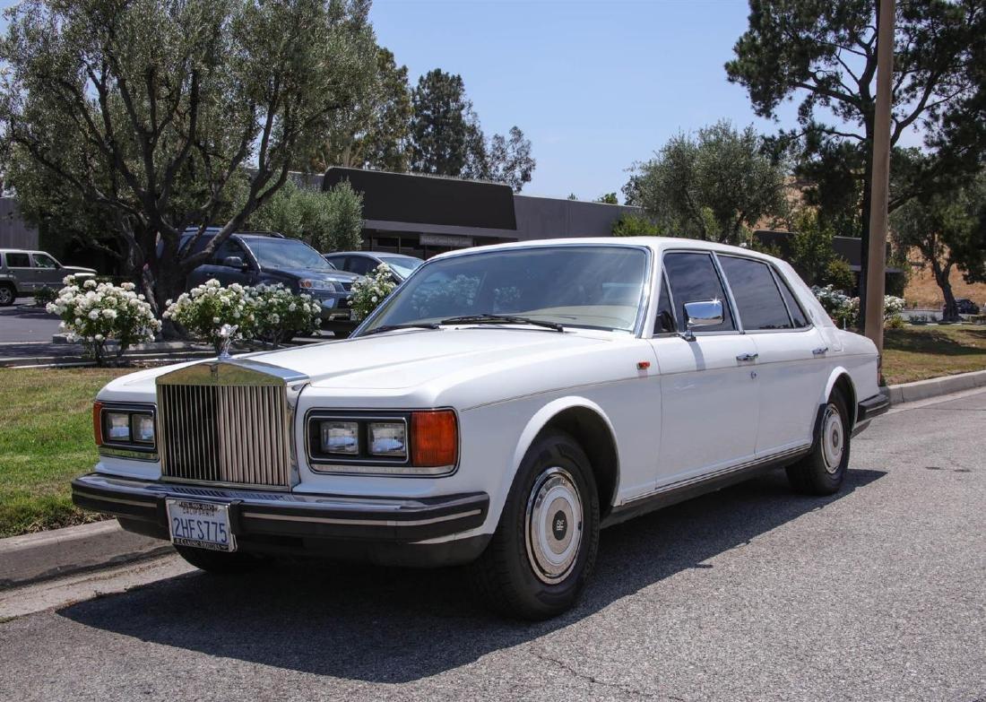 1986 Rolls Royce Silver Spur