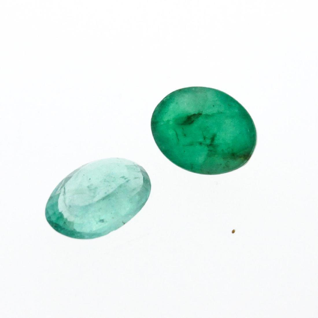 3.02 cts. Oval Cut Natural Emerald Parcel