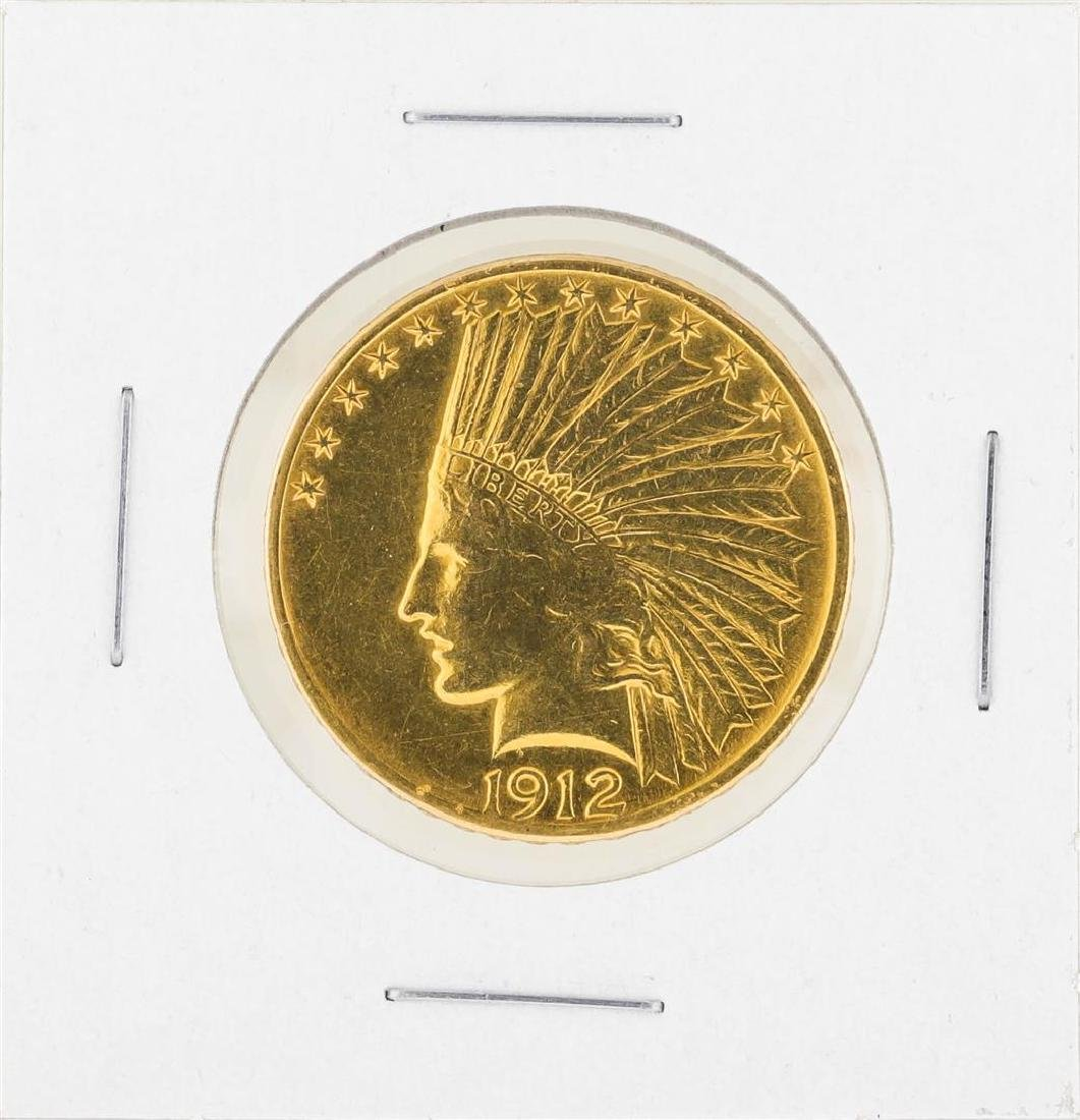 1912 $10 Indian Head Gold Coin C