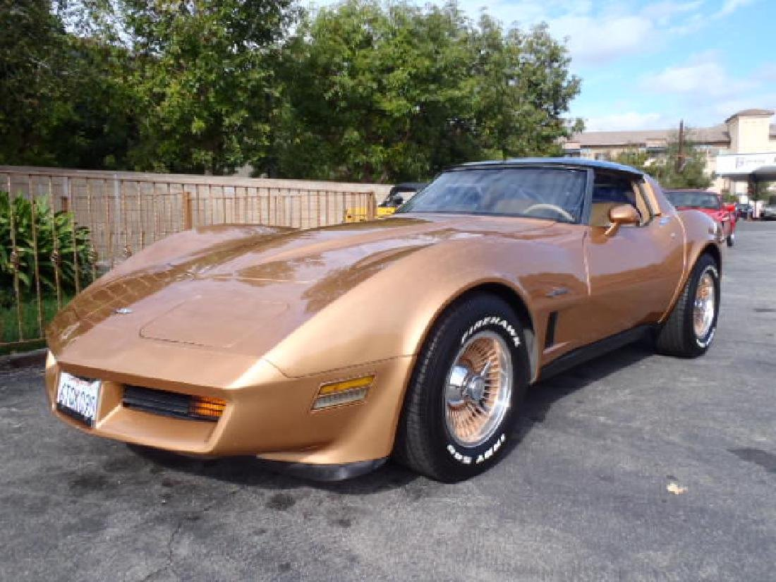 1982 Chevrolet Corvette T-Top