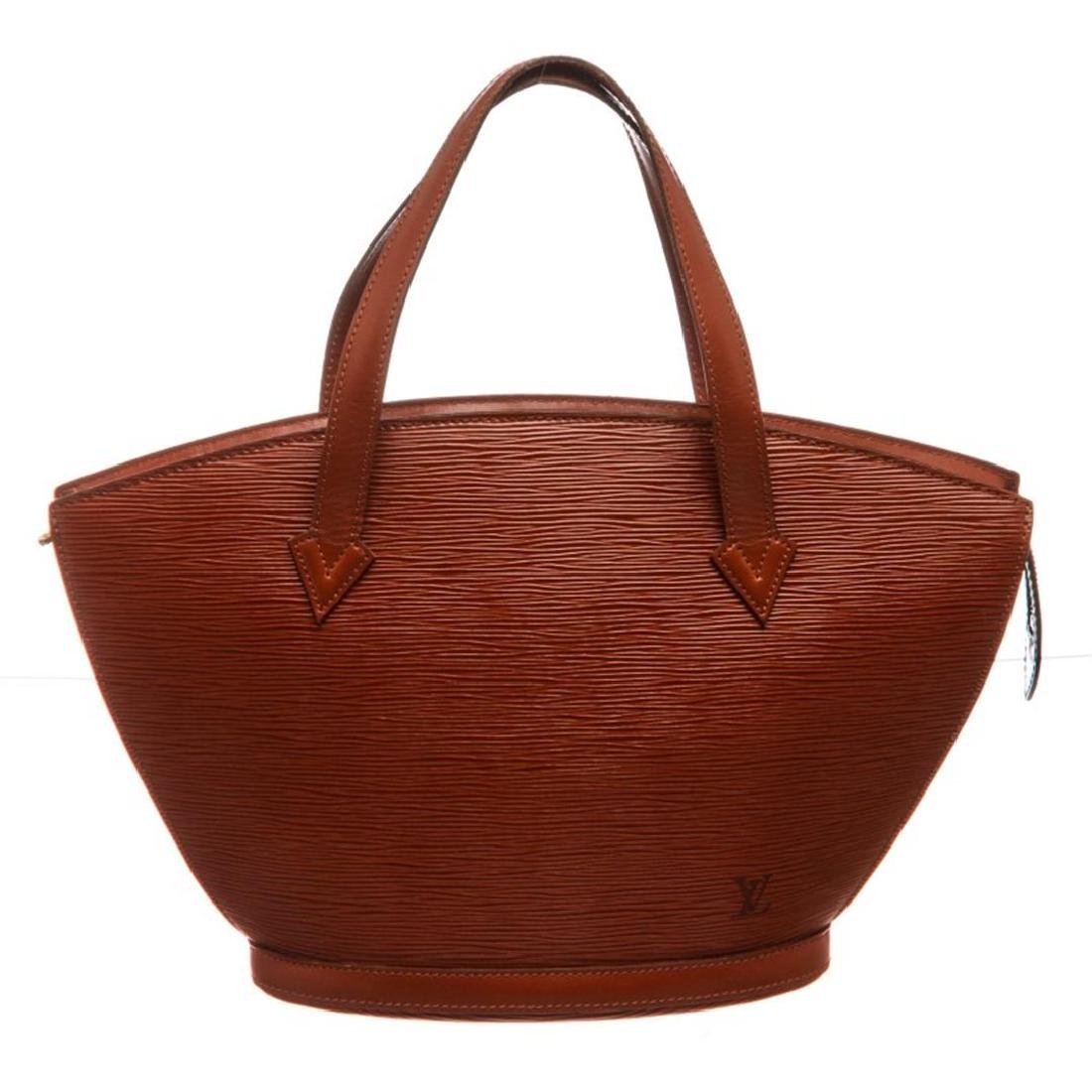 Louis Vuitton Sienna Brown Epi Leather St Jacques PM