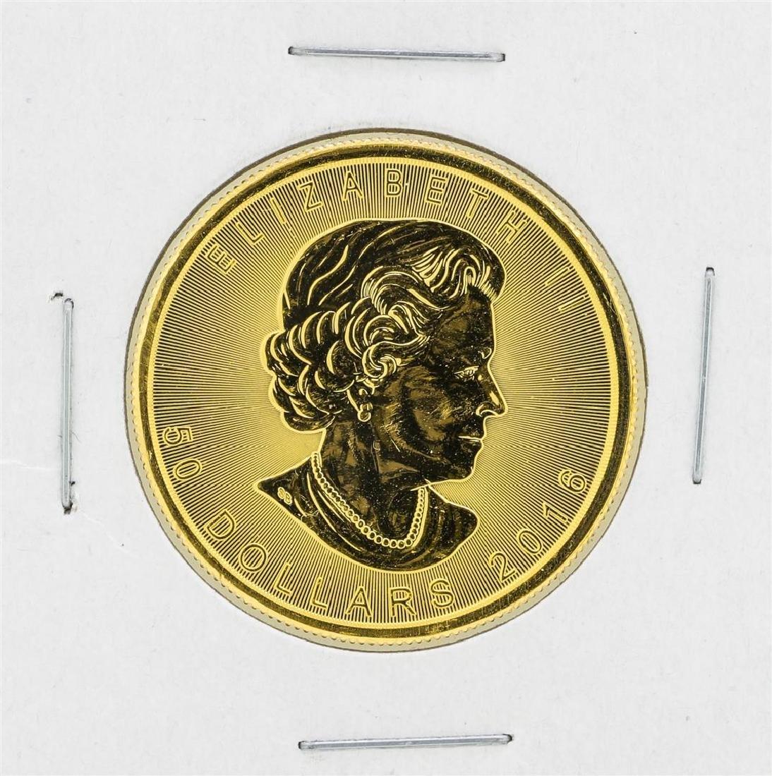 2016 Canadian $50 Gold Maple Leaf