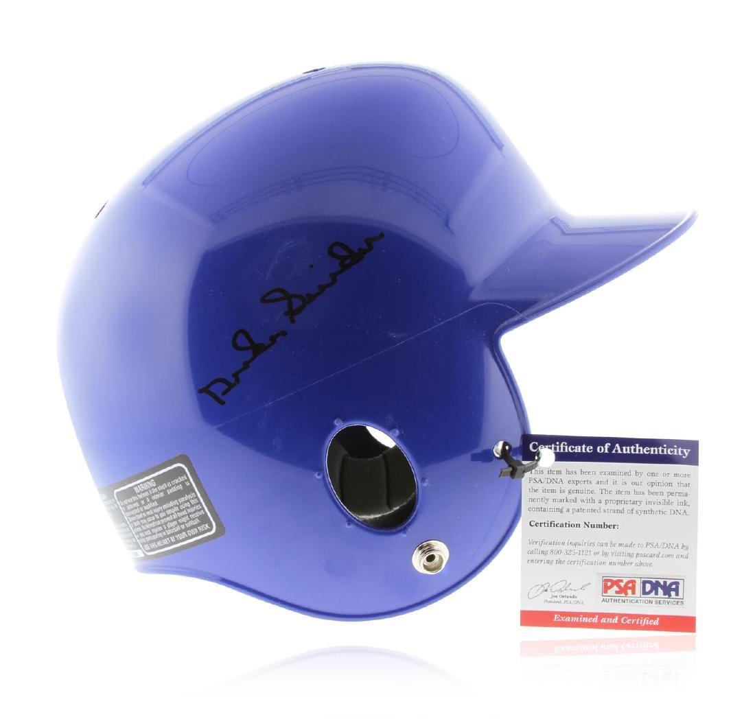 Autographed Duke Snider Brooklyn Helmet  PSA Certified