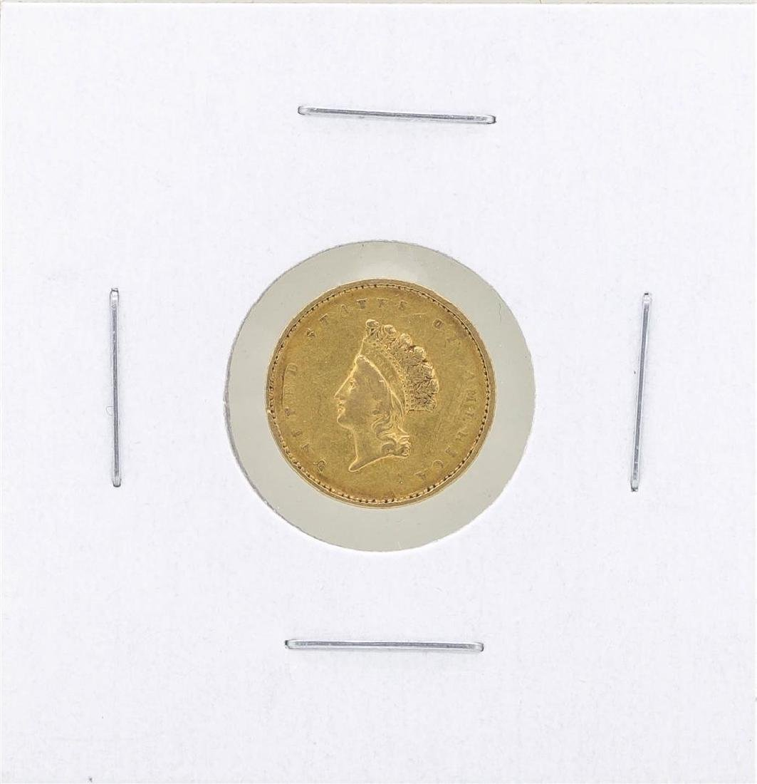 1855 $1 Type II Gold Coin XF
