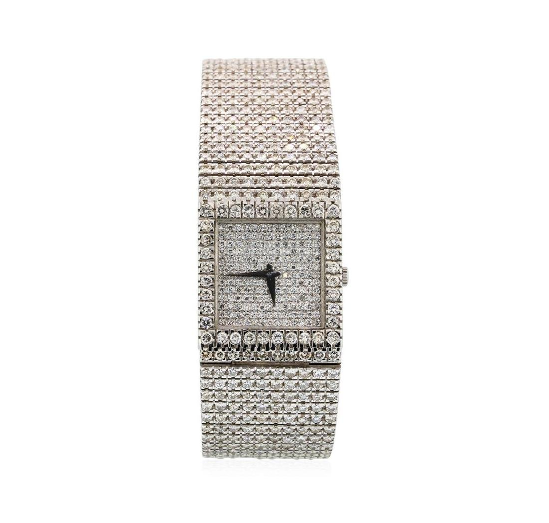 Vintage Piaget 18KT White Gold Diamond Watch