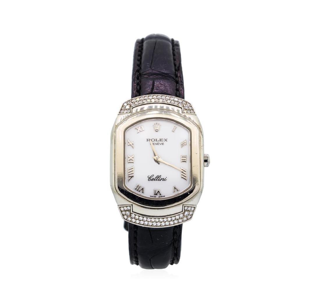 Ladies Rolex 18KT White Gold Cellini Cellissma Model