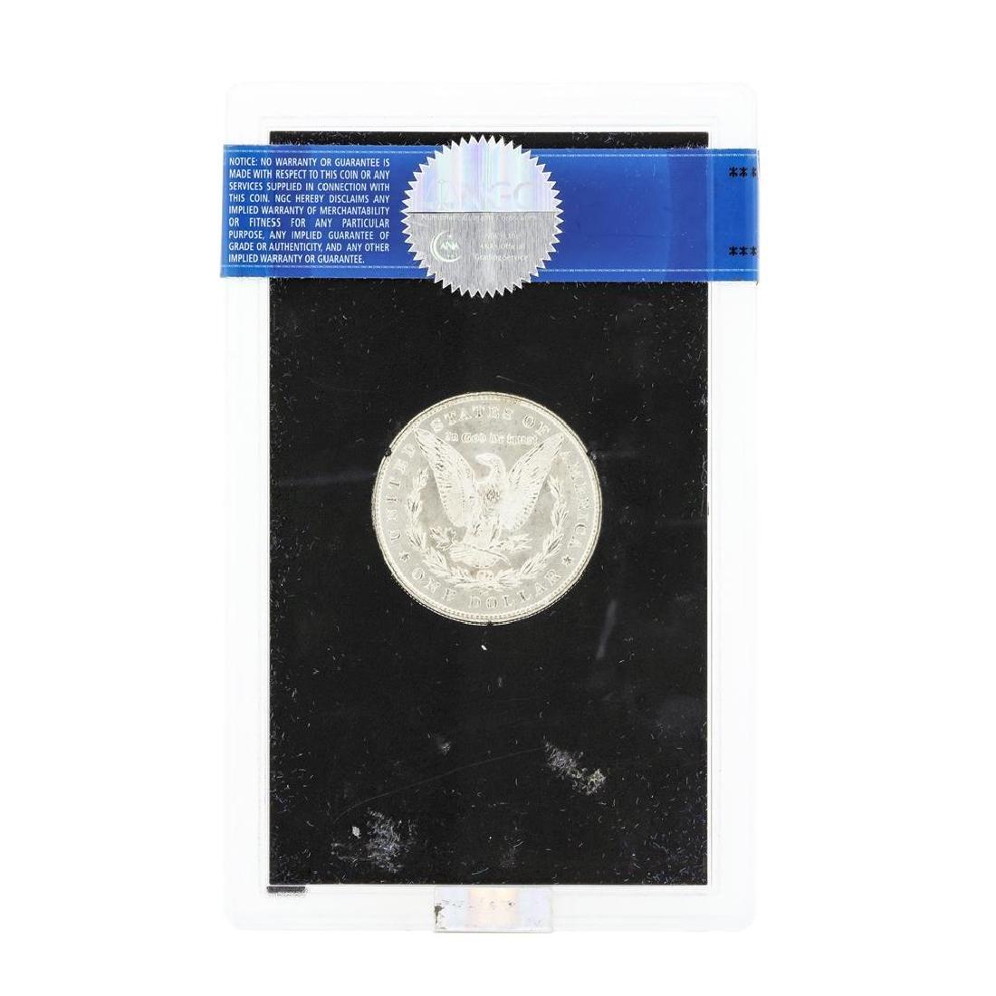 1880 MS63 Carson City Uncirculated Silver Dollar - 2