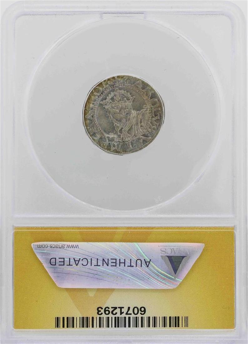 1542 Besancon Charles V Holy Roman Emperor Coin ANACS - 2