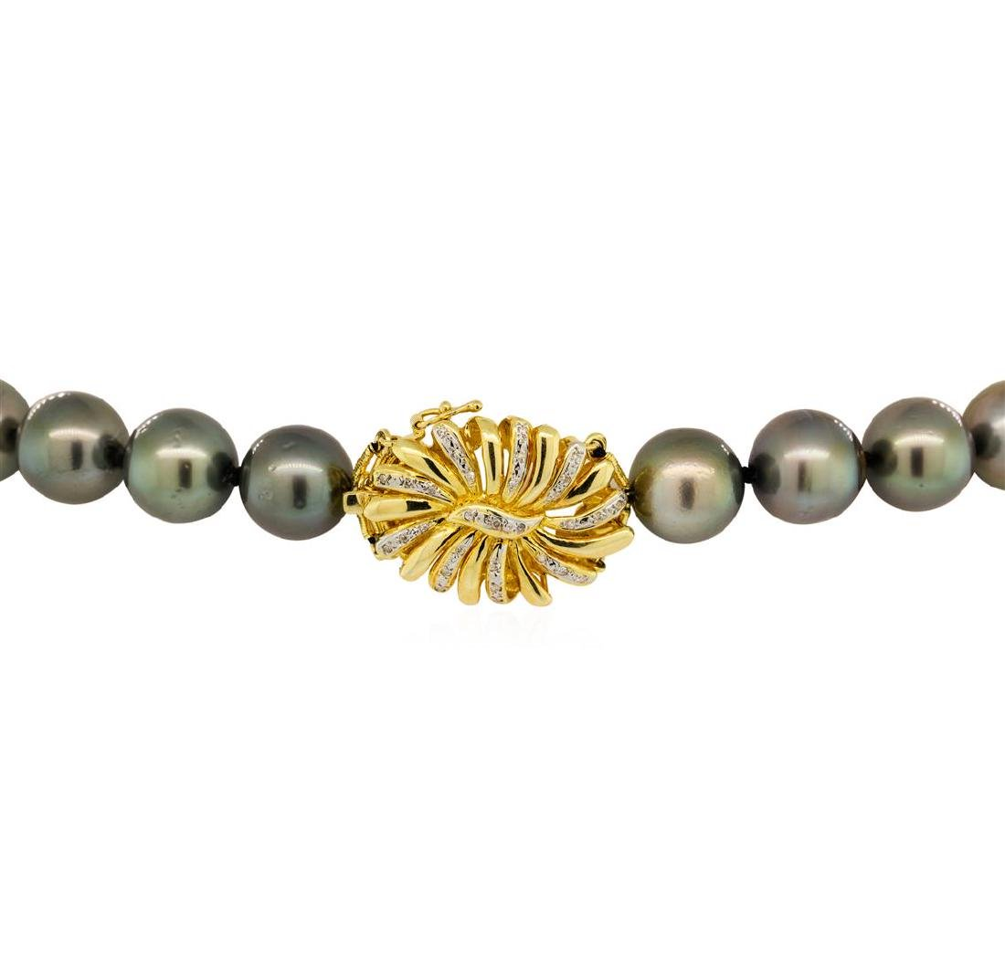Pearl and Diamond Necklace - 3
