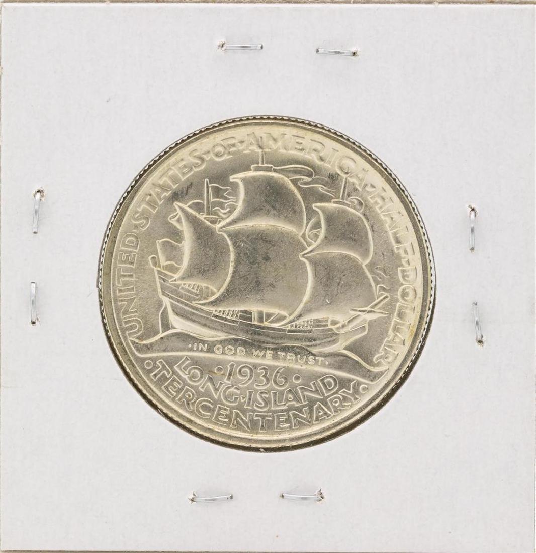 1936 Long Island Centennial Commemorative Half Dollar - 2