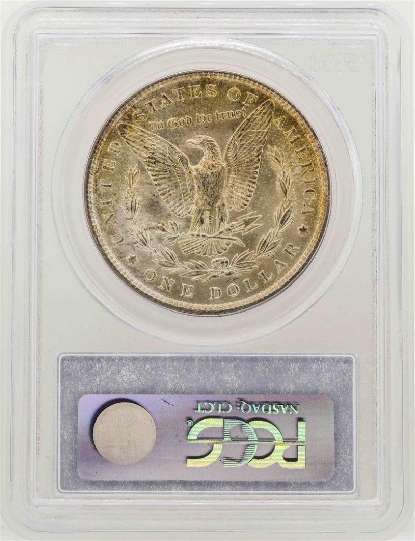 1887 $1 Morgan Silver Dollar Coin PCGS MS63 - 2