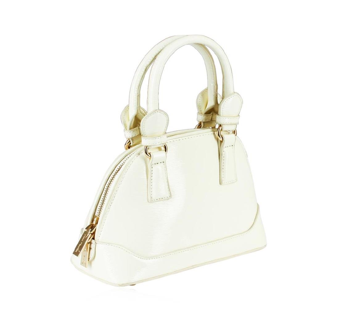 White Becca Mini Handbag