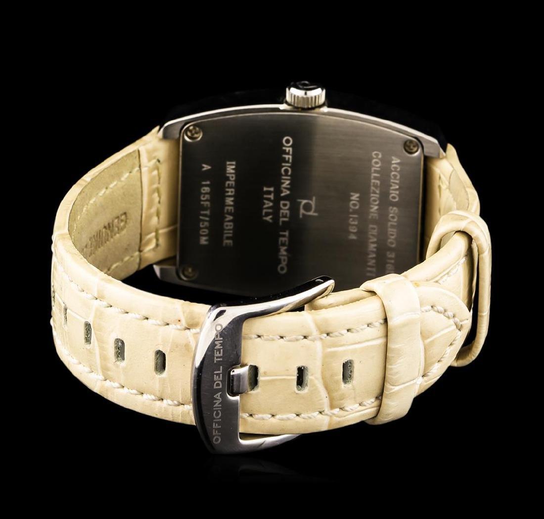 Officina Del Tempo Collezione Diamanti Tonneau Watch - 2