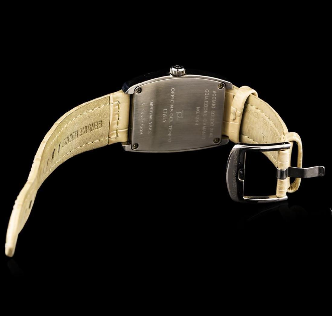 Officina Del Tempo Collezione Diamanti Tonneau Watch - 3