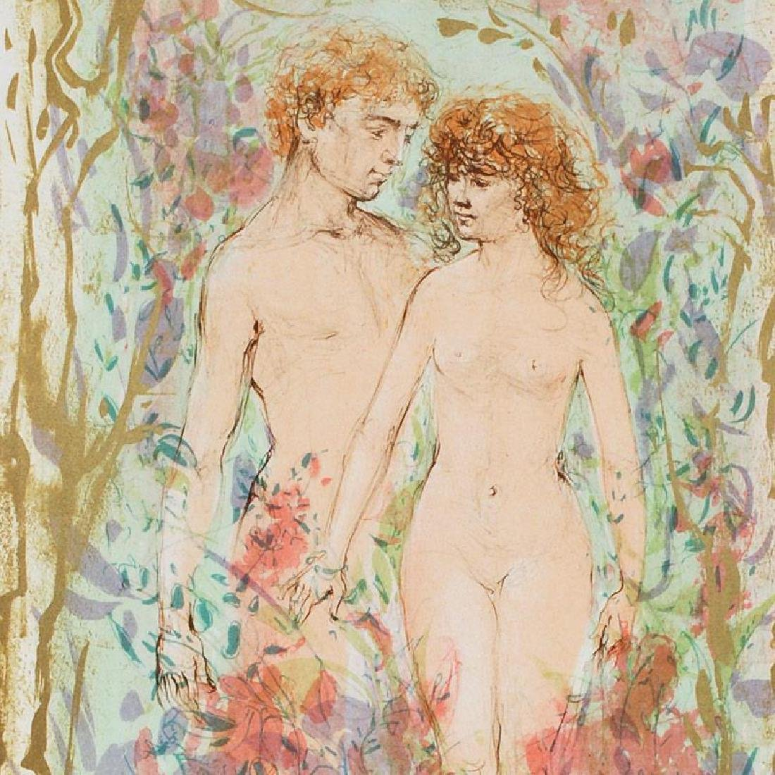 The First Couple by Hibel (1917-2014) - 2