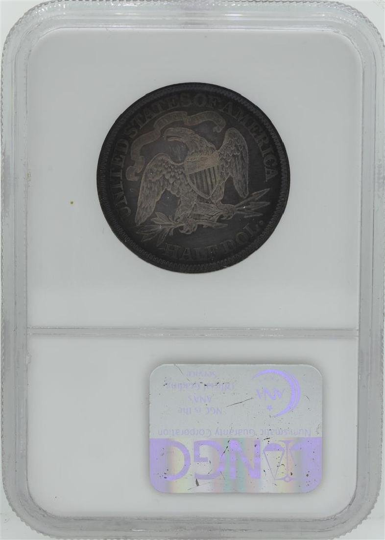 1870 Seated Liberty Proof Half Dollar Coin NGC PF63 - 2