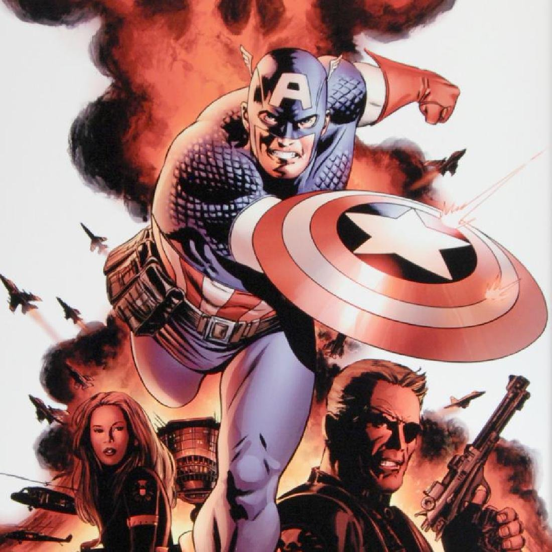 Captain America #1 by Stan Lee - Marvel Comics - 2