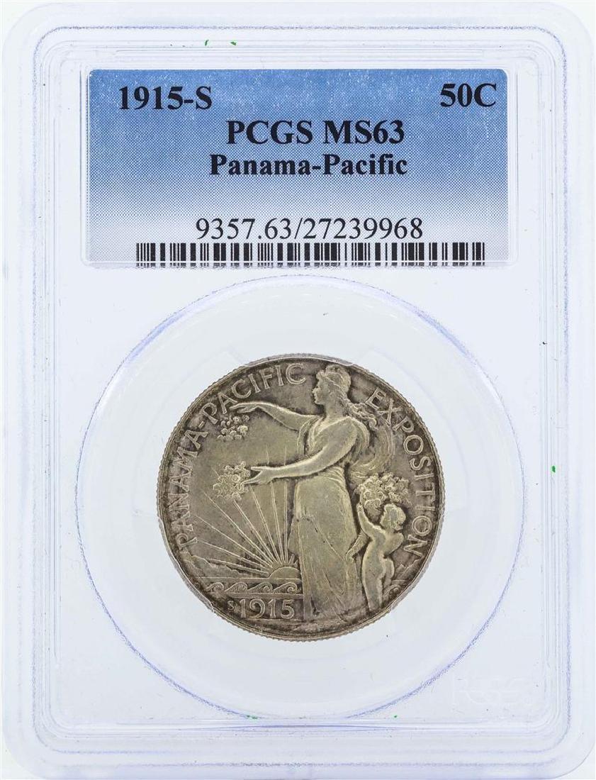 1915-S Half Dollar Panama Pacific Exposition
