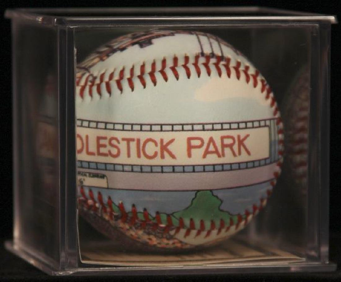 "Unforgettaball! ""Candlestick Park"" Collectable Baseball - 3"