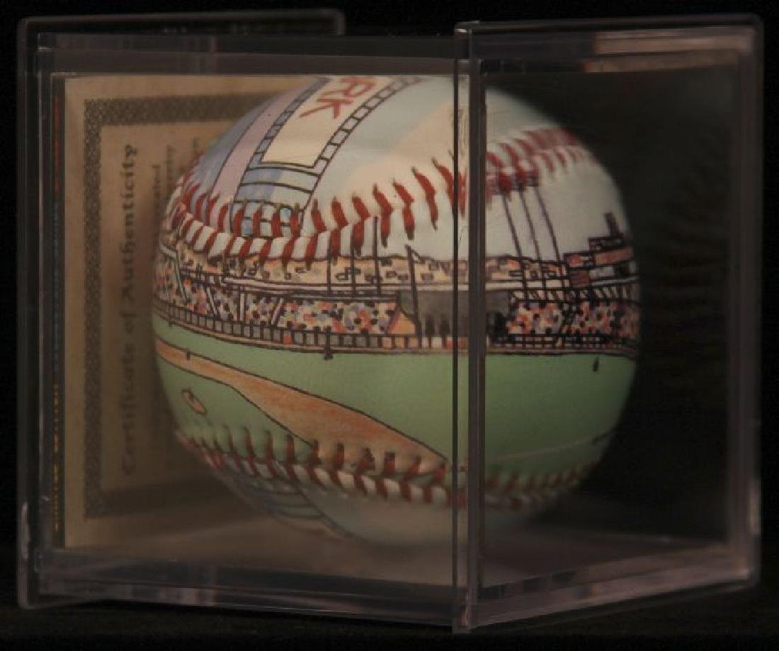 "Unforgettaball! ""Candlestick Park"" Collectable Baseball - 5"