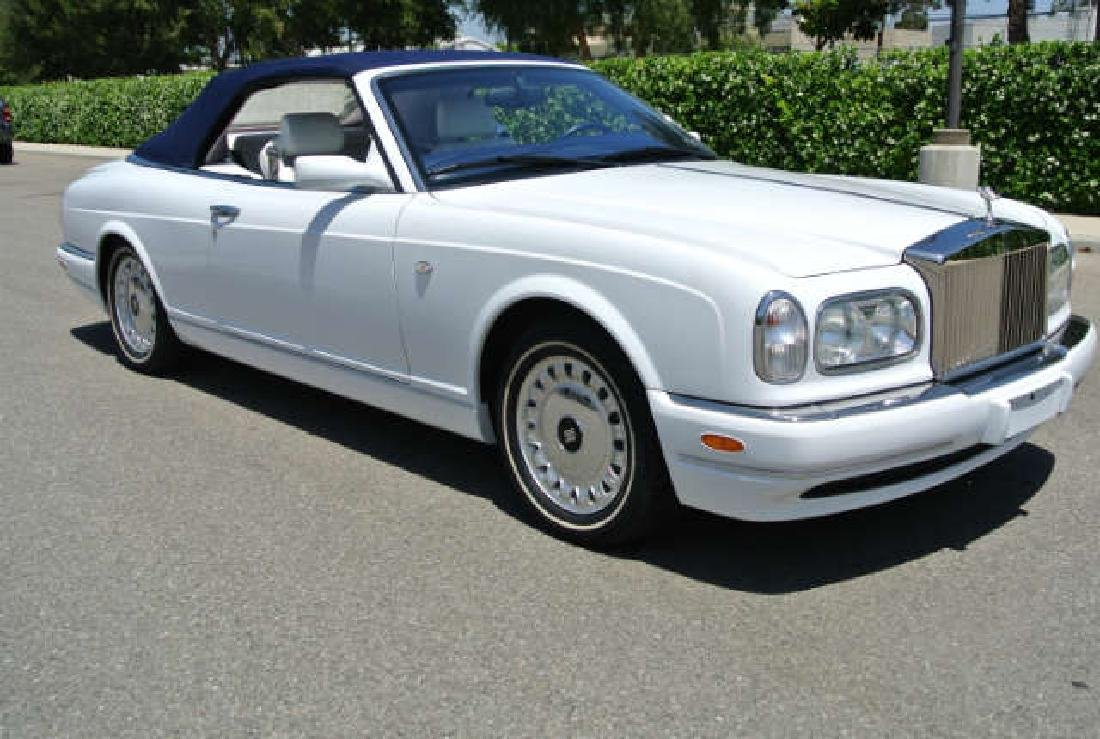 2001 White Rolls-Royce Corniche Convertible