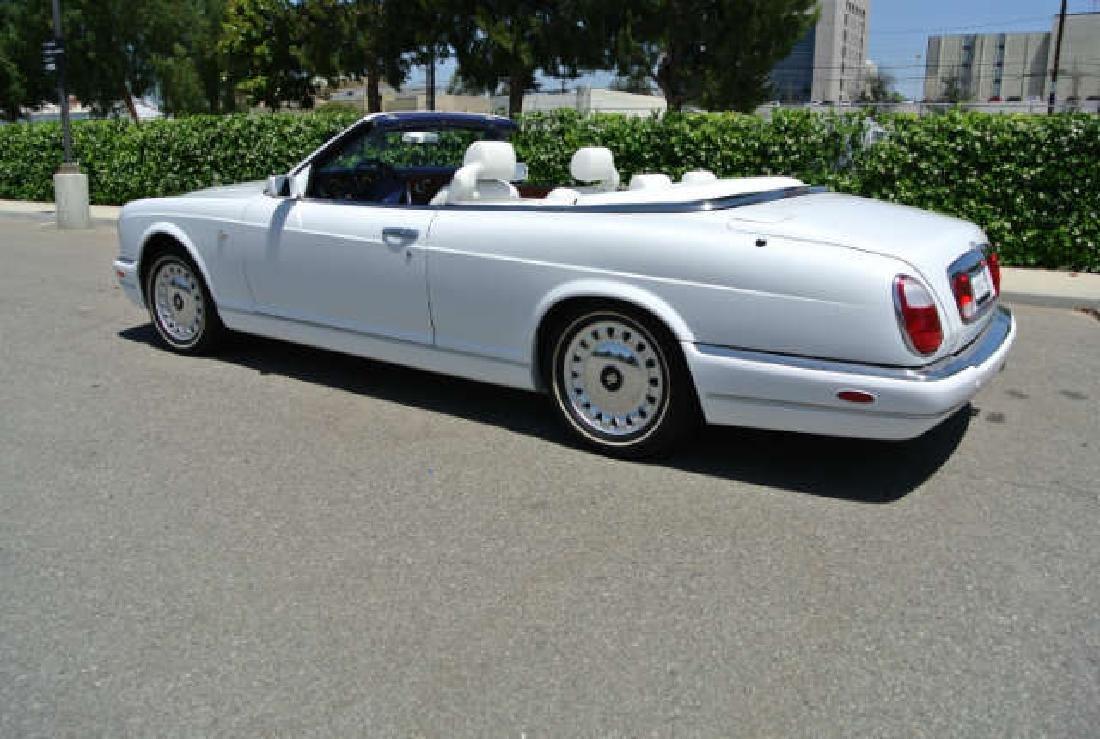 2001 White Rolls-Royce Corniche Convertible - 4
