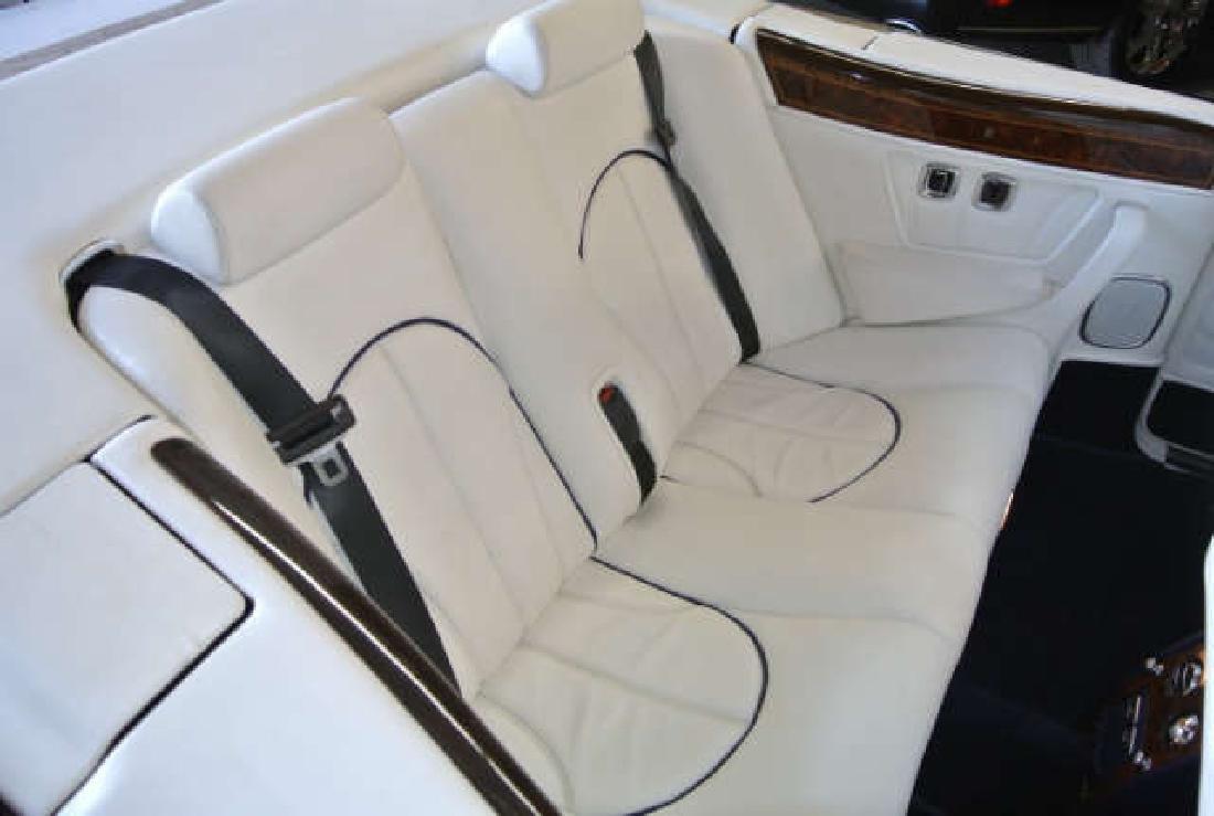 2001 White Rolls-Royce Corniche Convertible - 6