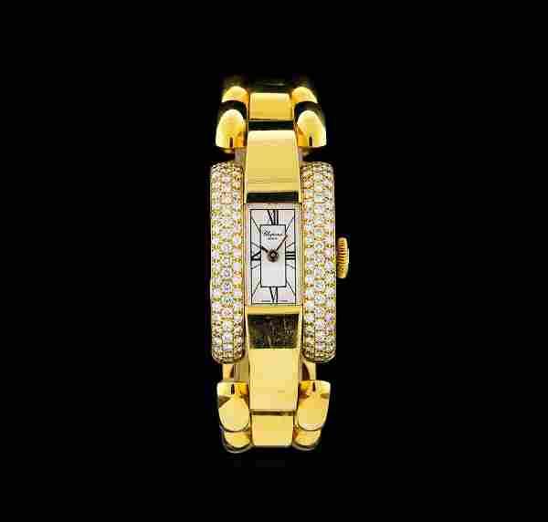 Chopard 18KT Gold 1.75 ctw Diamond La Strada Ladies