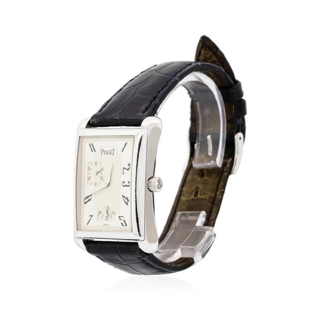 """Piaget """"Emperador"""" 18KT White Gold Wristwatch - 2"""