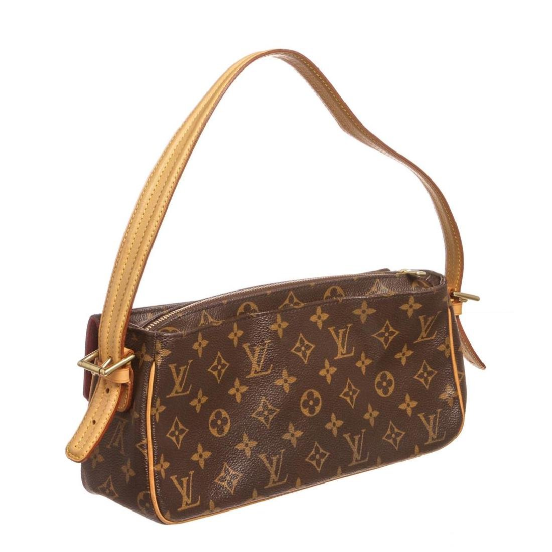 Louis Vuitton Monogram Canvas Leather Viva Cite MM Bag - 3