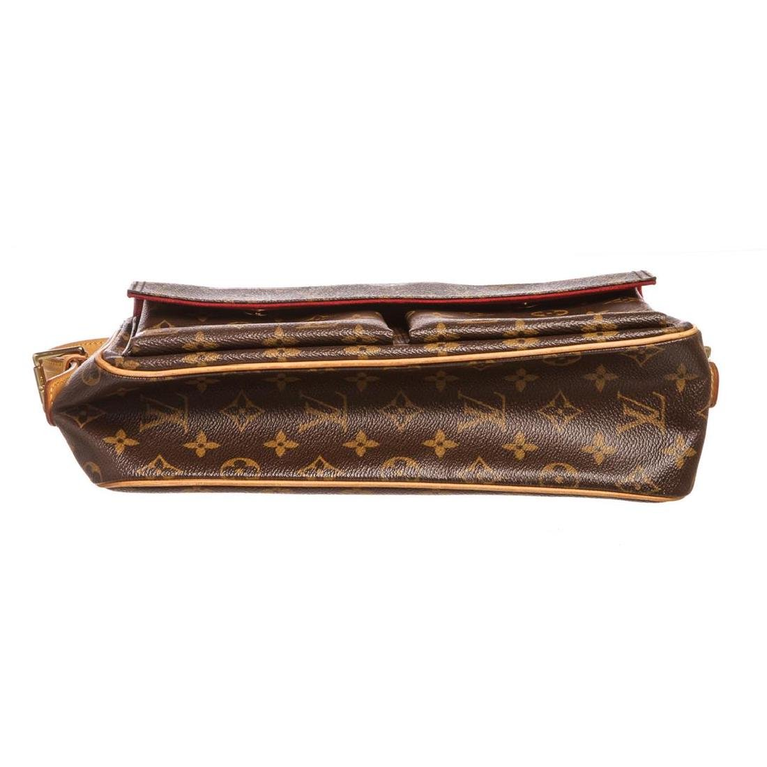 Louis Vuitton Monogram Canvas Leather Viva Cite MM Bag - 4