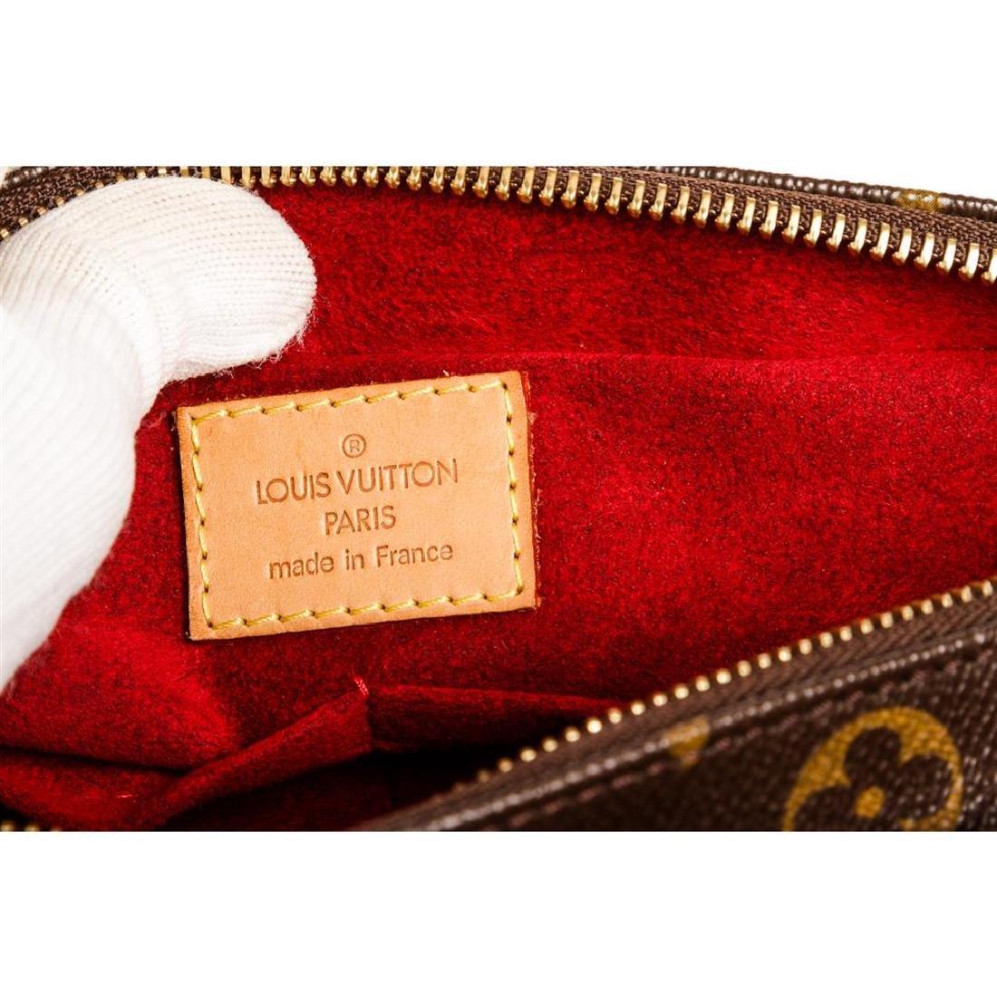 Louis Vuitton Monogram Canvas Leather Viva Cite MM Bag - 5