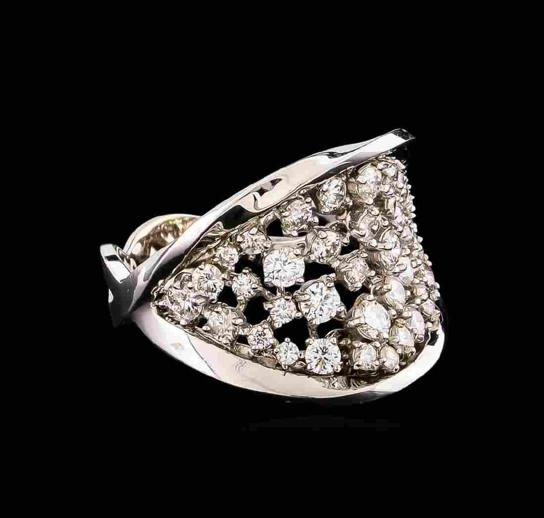 14KT White Gold 1.40 ctw Diamond Ring