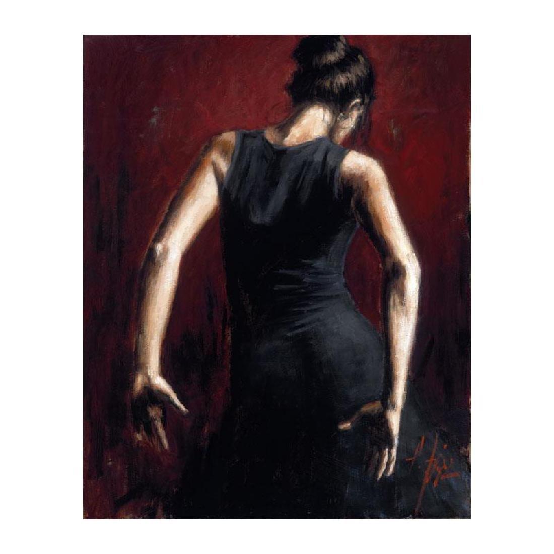El Baile Del Flamenco Rojo II by Perez, Fabian