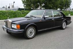 1996 Black Rolls-Royce Silver Spur