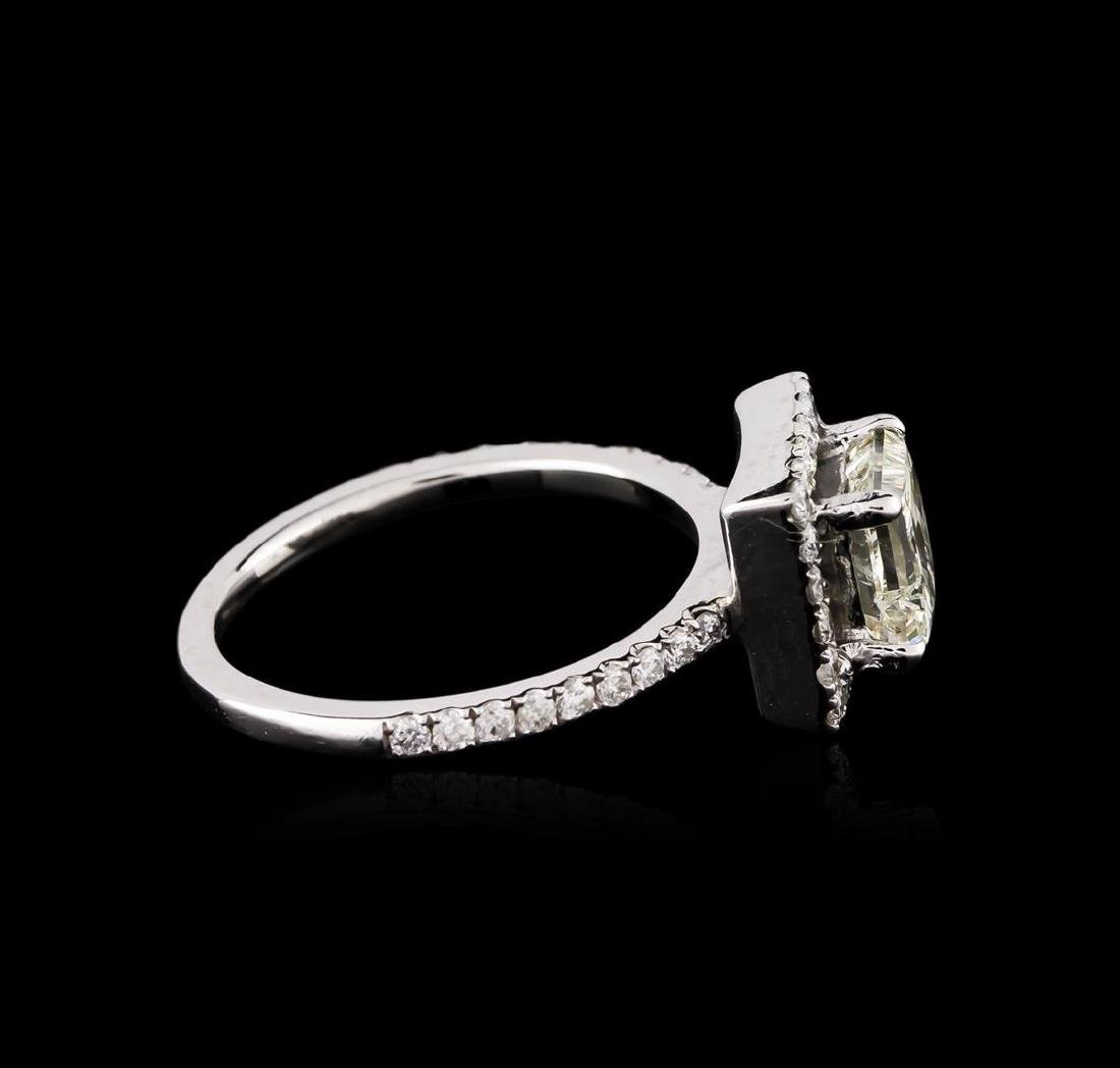 14KT White Gold 1.50 ctw Diamond Ring - 3